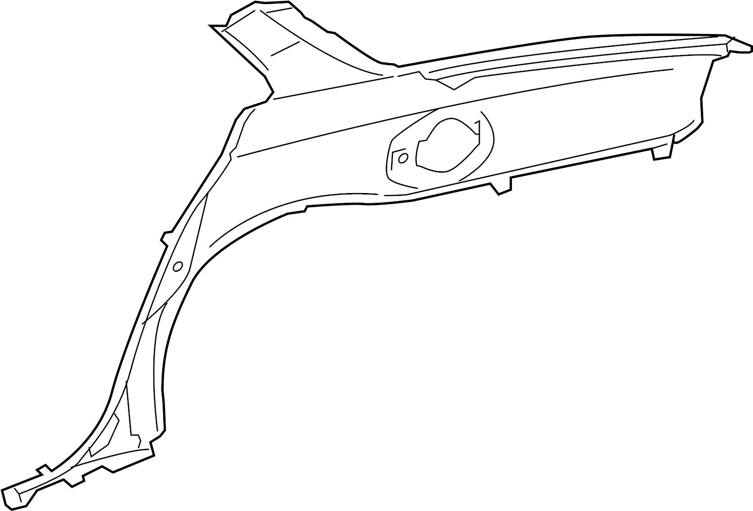 Jaguar Xjr Panel Fender Quarter Panel