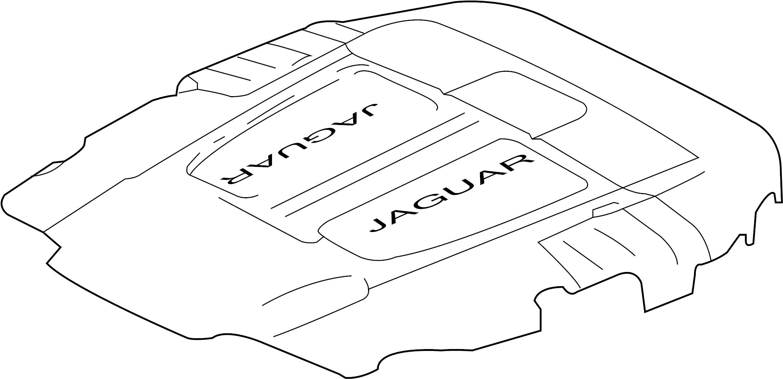 Jaguar Xkr S Engine Cover 5 0 W Supercharger W Xkr S