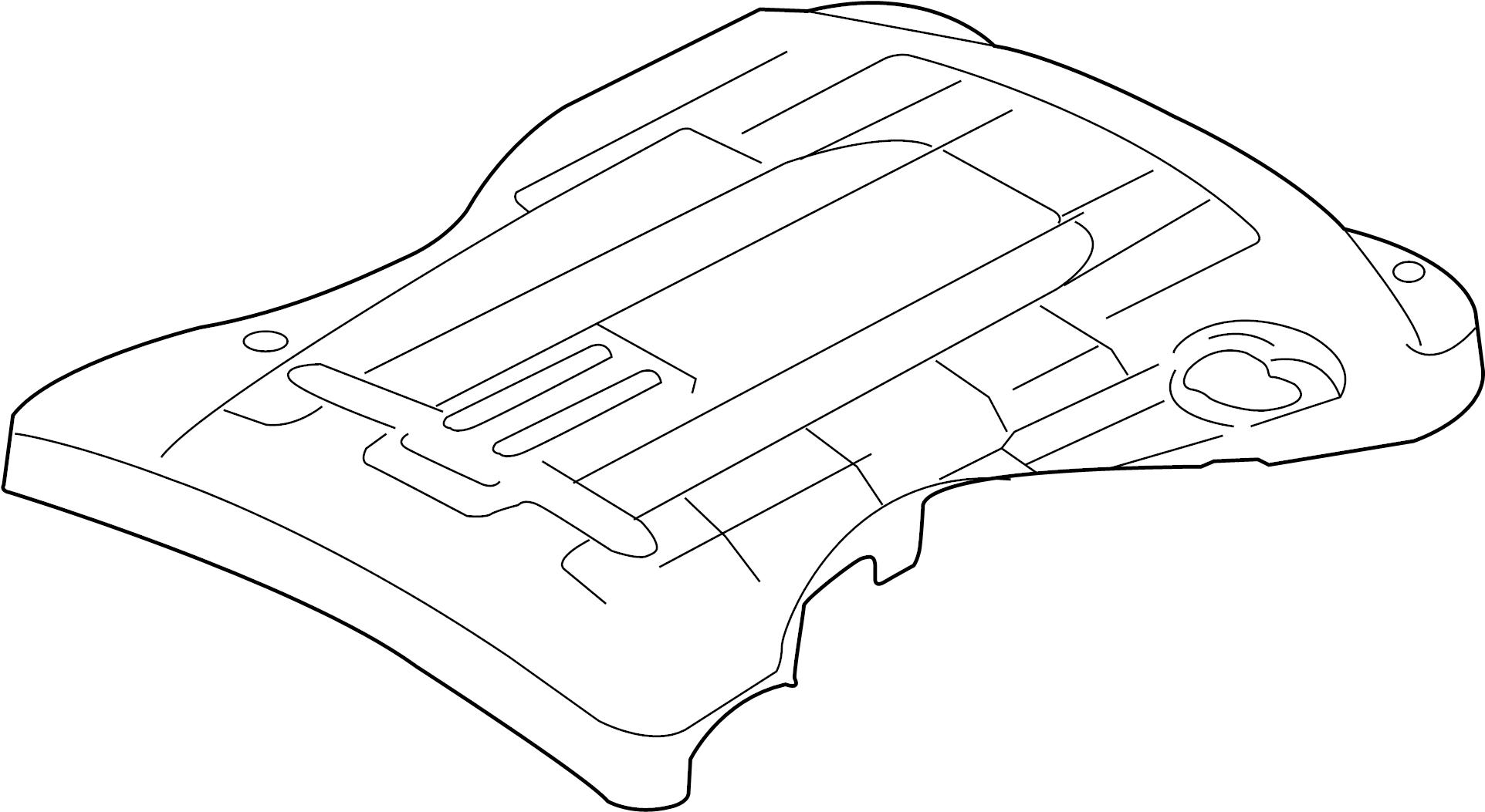 Jaguar Xkr Engine Cover 4 2 W Supercharger