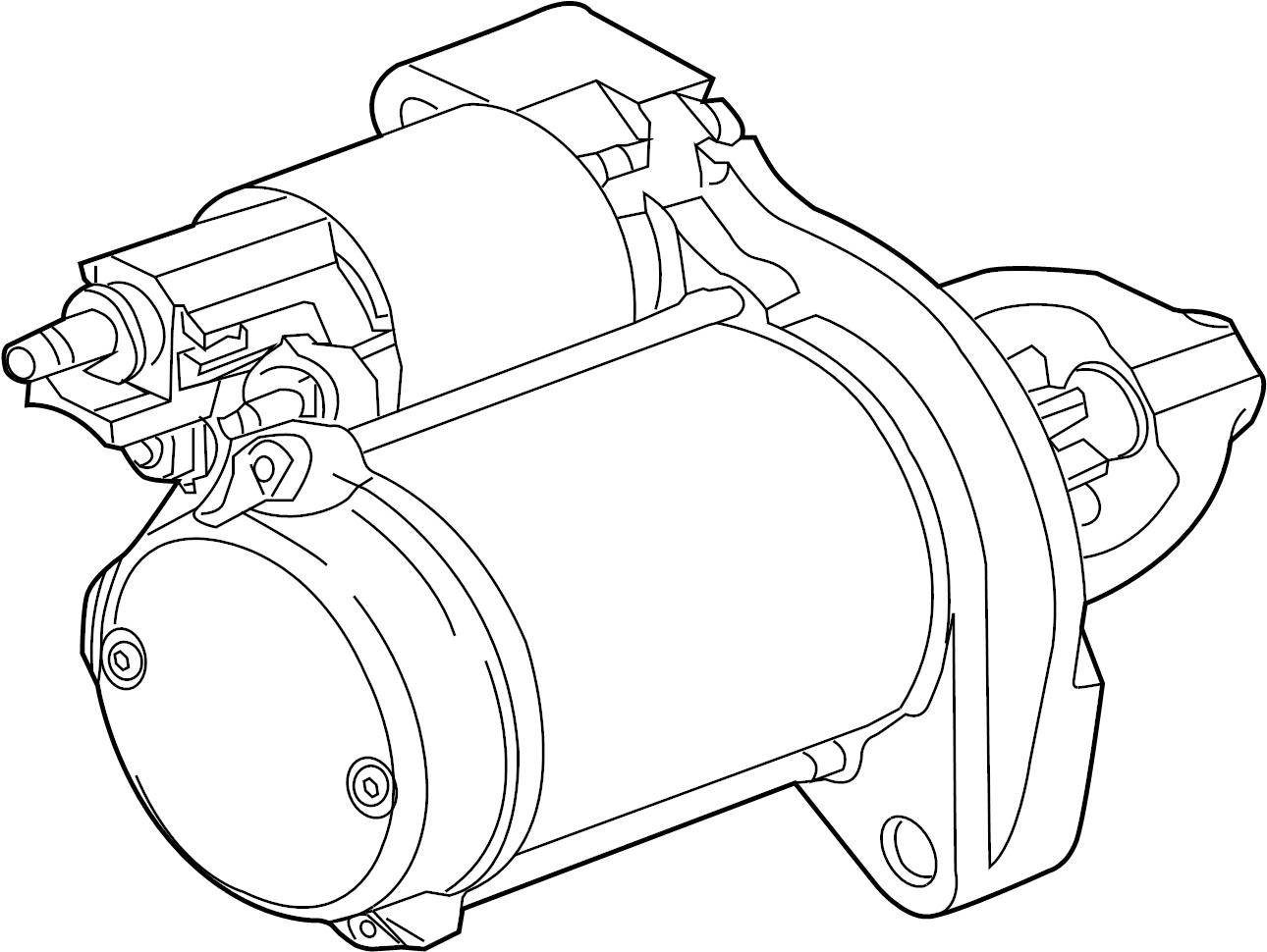 Jaguar Xf Starter Motor Motor