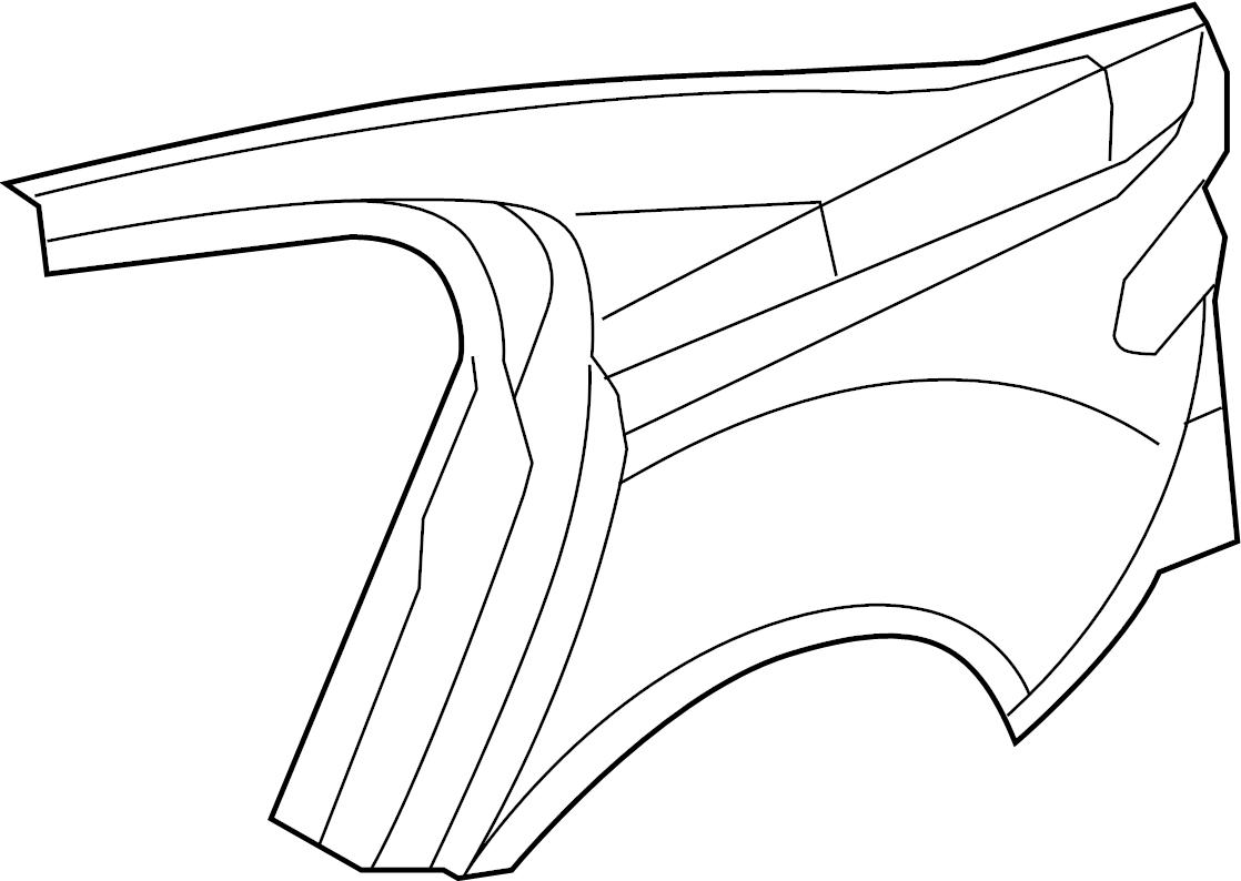 Jaguar Xfr S Panel Quarter Quarter Panel