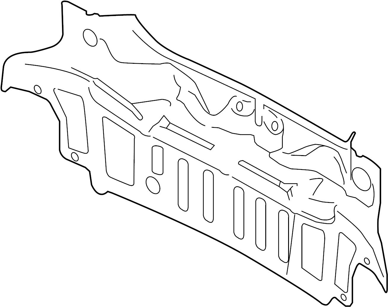 Jaguar Xf Panel Rear Rear Body Panel
