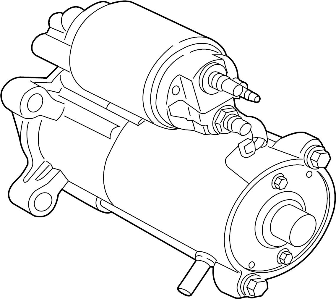 Jaguar Xfr S Motor Starter Starter