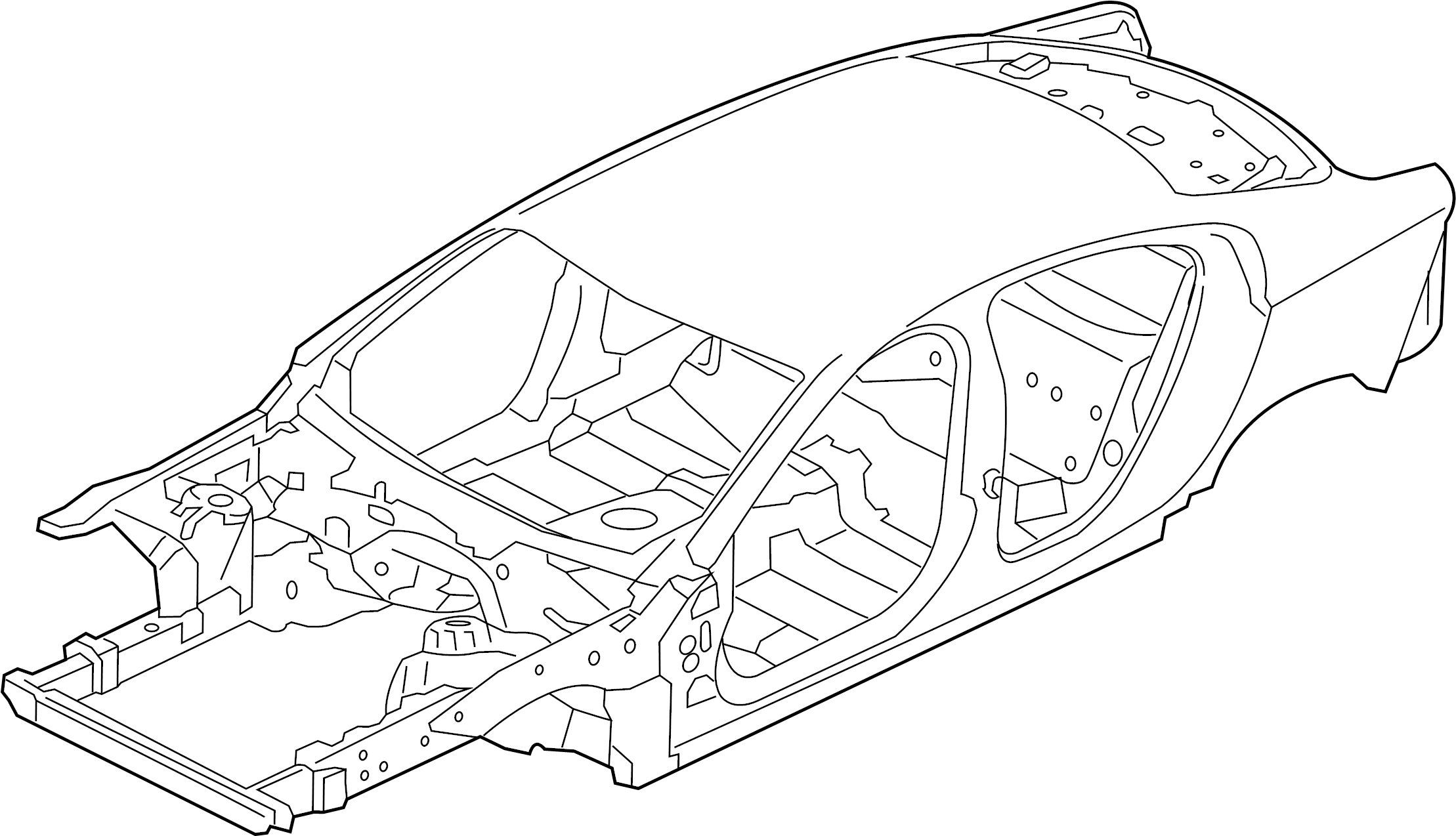 Jaguar Xe Body Assembly Bodyshell Vehicle Body Shell W O Awd From Vin W O