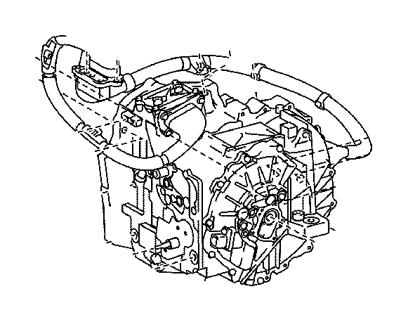 Toyota Camry Cover Sub Assembly Transmission Oil Pump