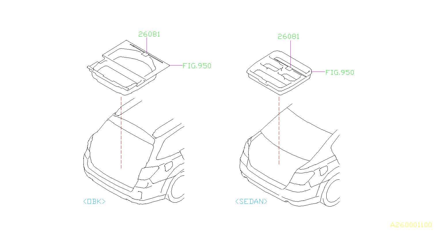 Subaru Legacy Tool Electric Parking Brake System Suspension Brakes