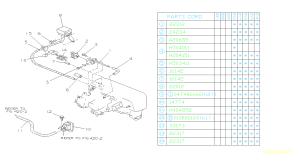 Subaru Justy Bolt Engine, vacuum, intake  800206550 | Kirby Subaru, Ventura CA