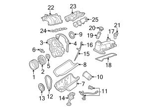 F7DZ6316AA  Ford Crankshaft damper Engine harmonic balancer Vibration damper | Lakeland Ford