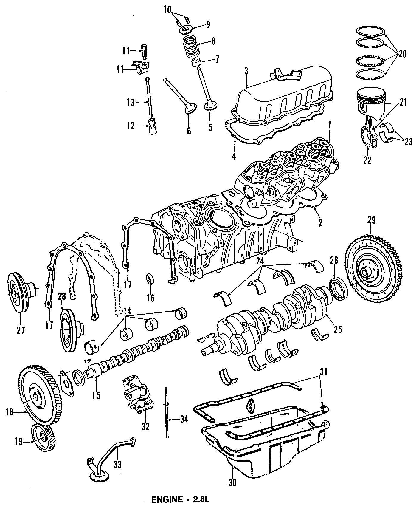 Ford Aerostar Camshaft Gear Timing Sprocket Engine 4