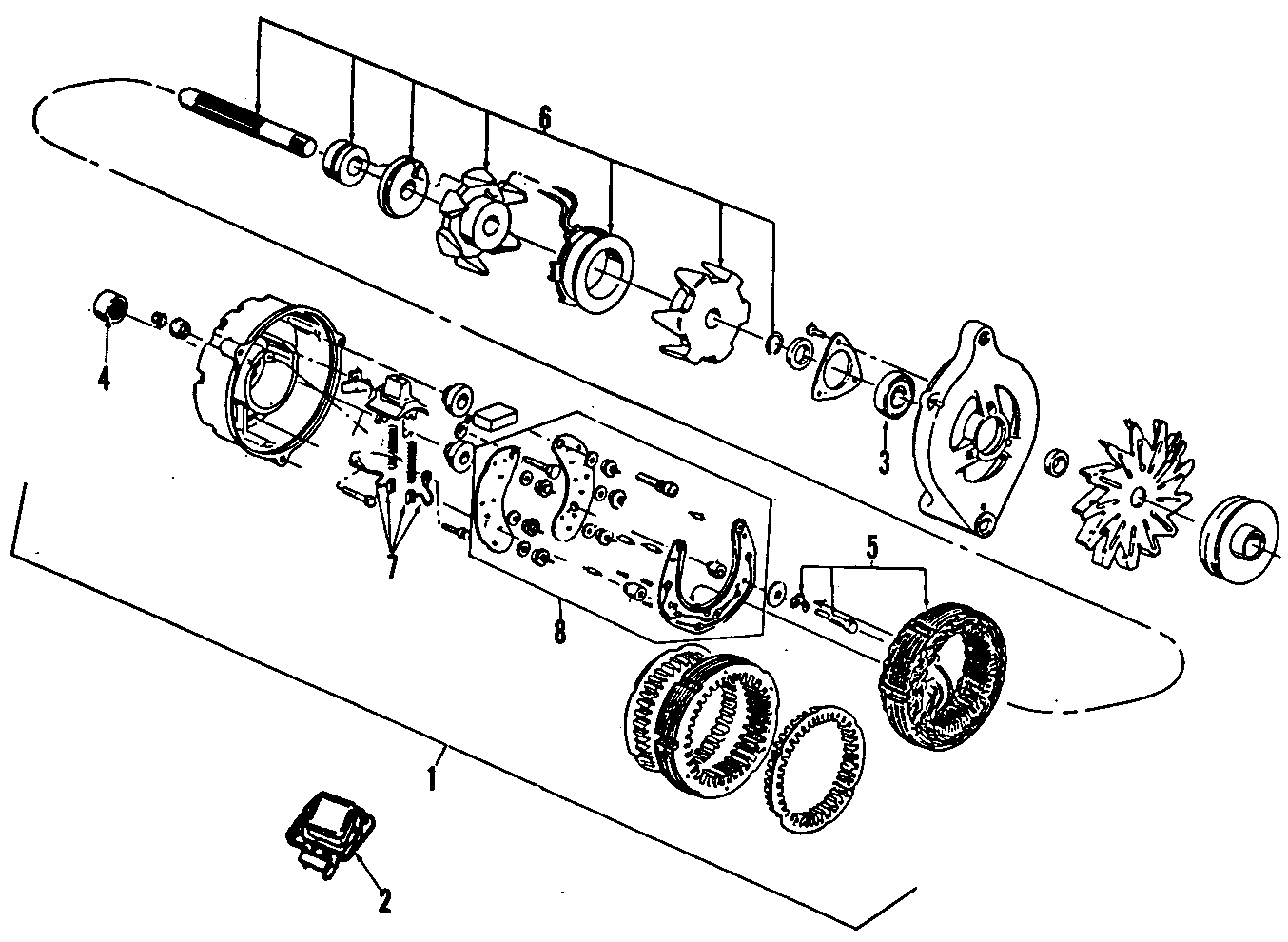 Ford Bronco Ii Voltage Regulator Victoria Crown
