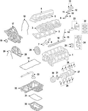 2015 Ford F250 Super Duty Engine Ford_trucks  FC3Z6006C