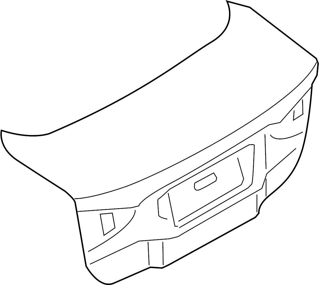 Ford Fusion Door Parts Diagram