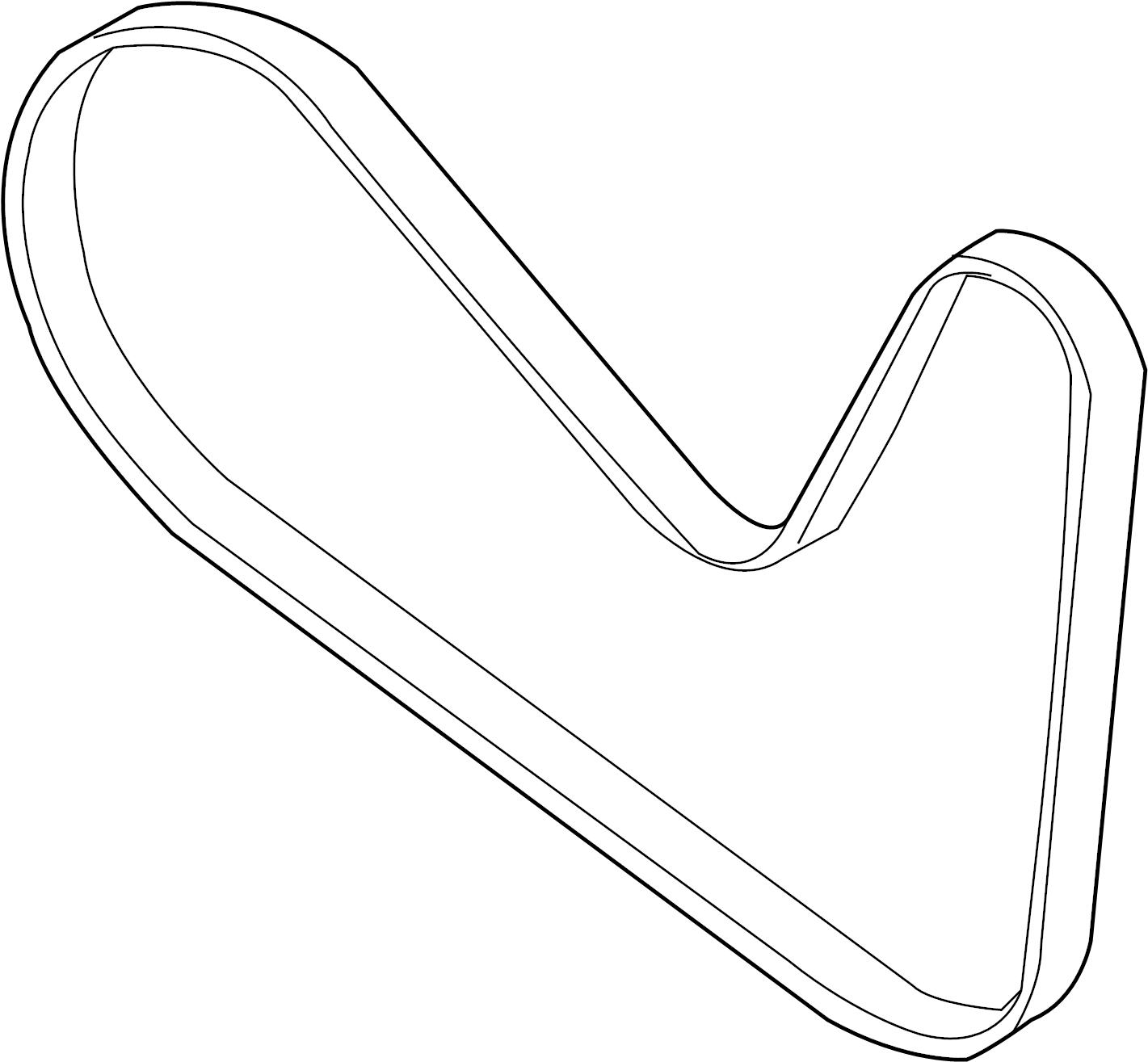 Ford Edge Serpentine Belt Liter Belts Pulleys