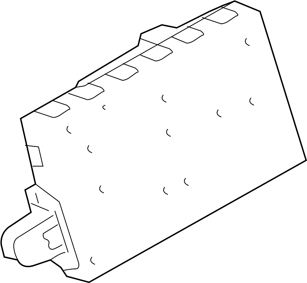Ford Taurus Module Control Lock Door Alarm Taurus X
