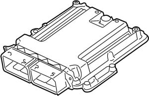 Ford F150 Engine Control Module 35 LITER, code RLN3