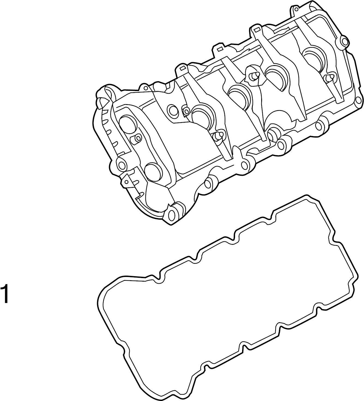 Ford F 150 Engine Valve Cover Gasket 5 0 Liter F150