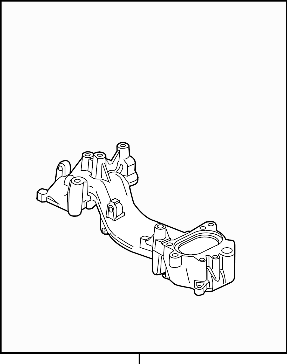 Ford F 250 Super Duty Engine Coolant Thermostat Kit 6 7