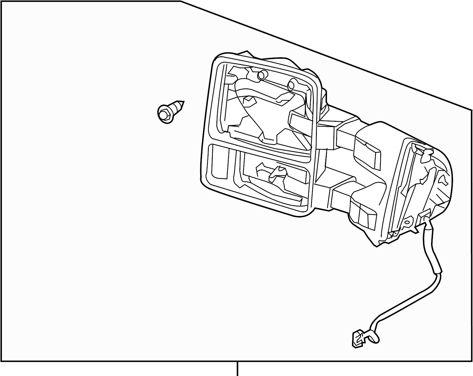 Ford F 250 Super Duty Mirror Telescoping Light Heated