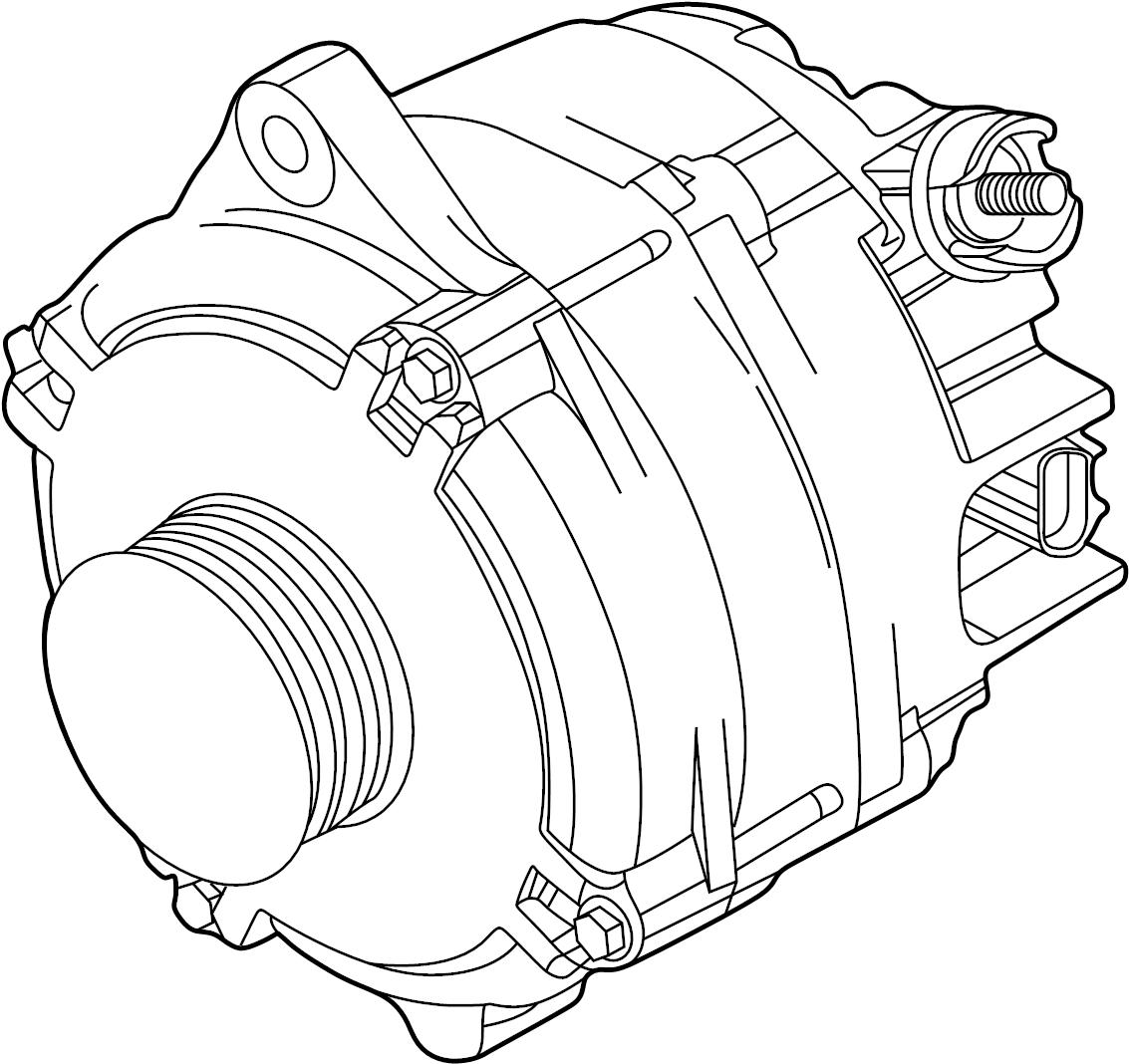 Ford Police Interceptor Sedan Alternator