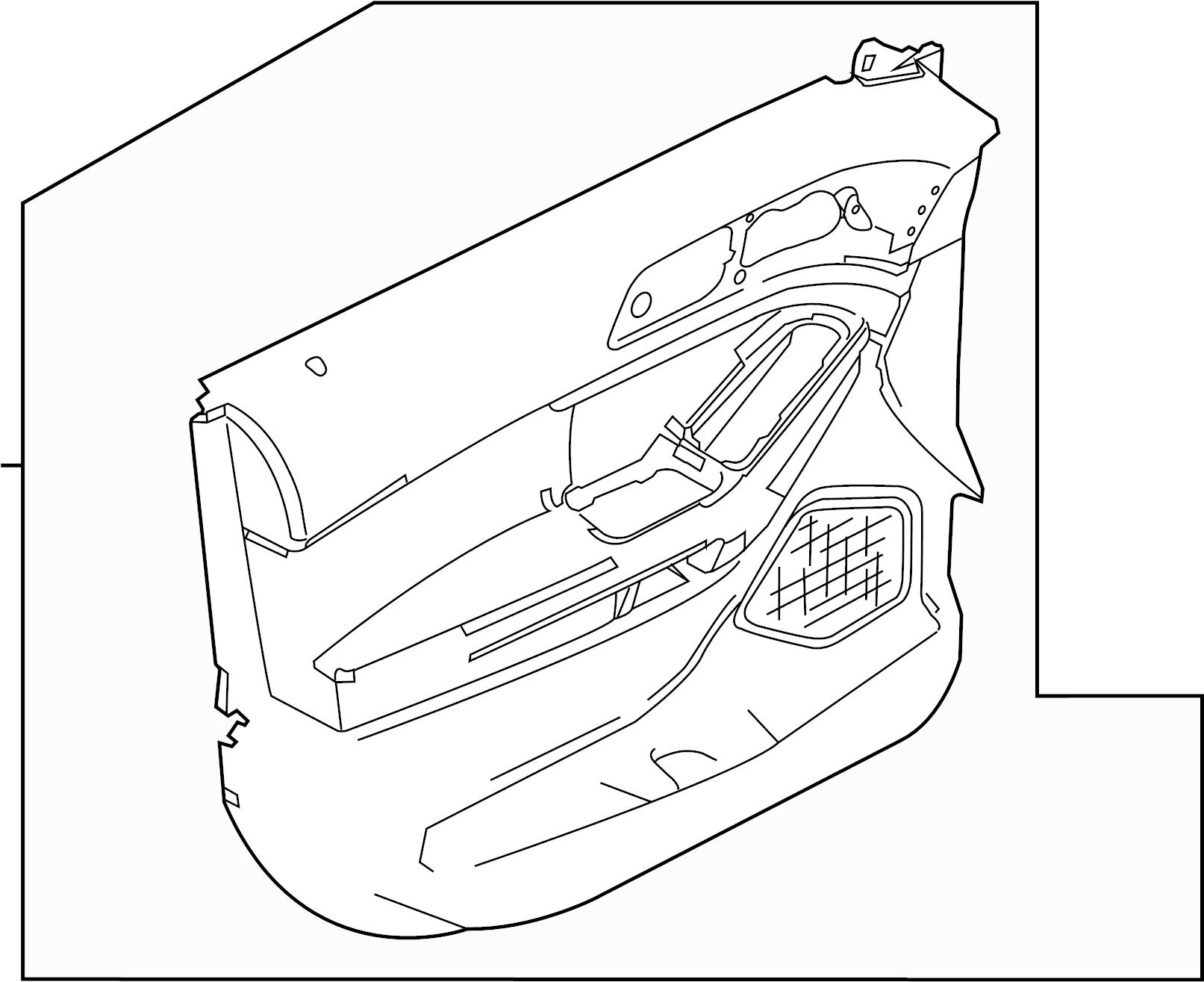 Ford Explorer Door Interior Trim Panel Door Trim
