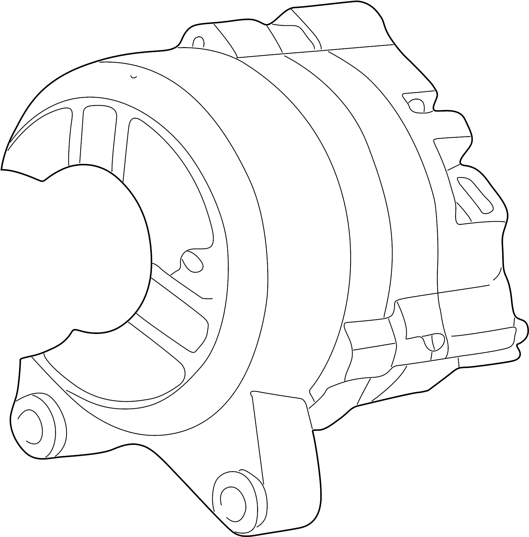 Ford F 250 Super Duty Alternator