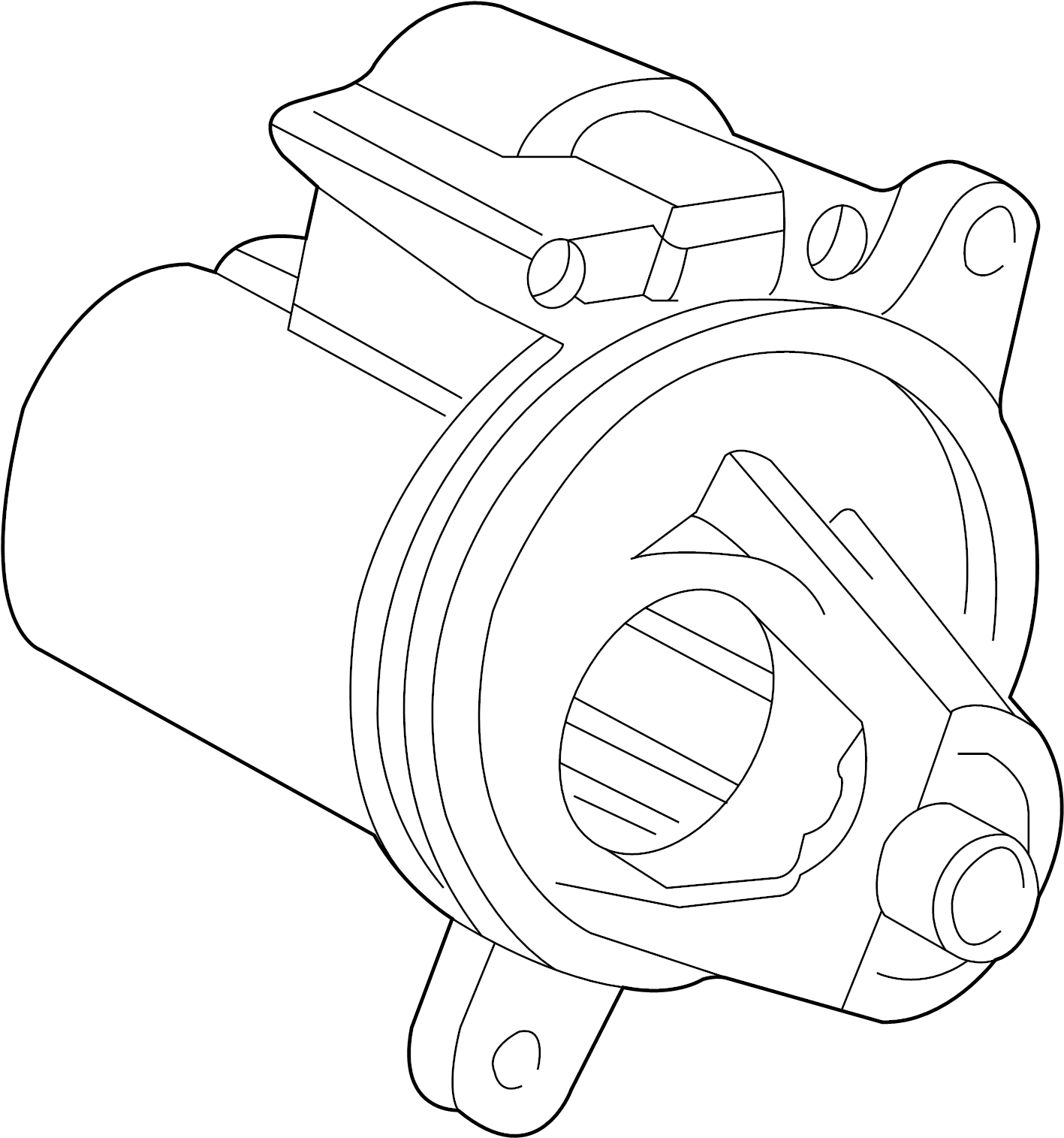Ford Explorer Sport Trac Starter Motor
