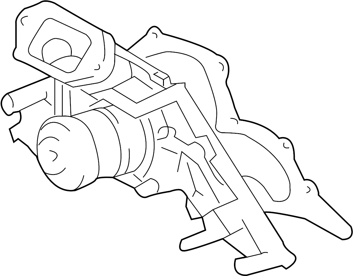 Toyota Fj Cruiser Engine Water Pump Inclgasket