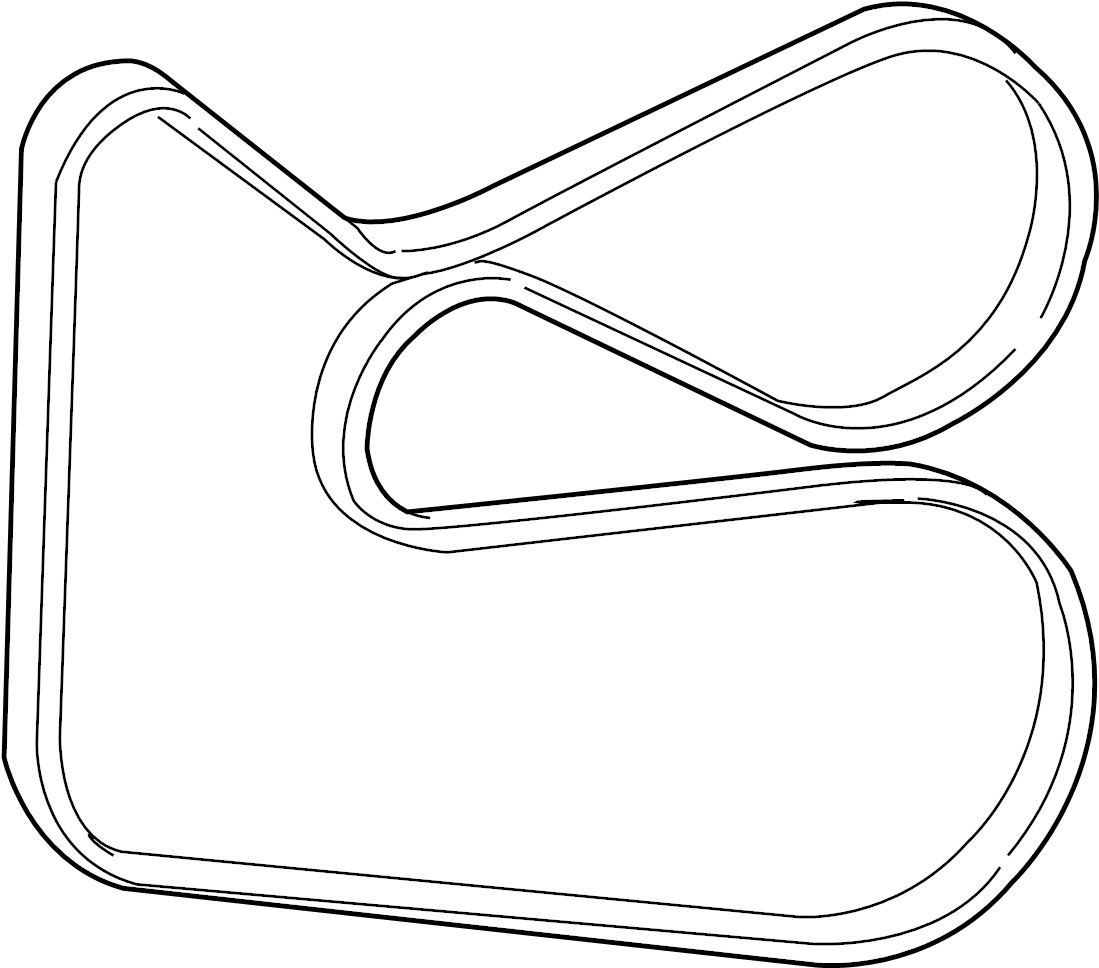 Toyota Sienna Serpentine Belt Pulleys Vbelt