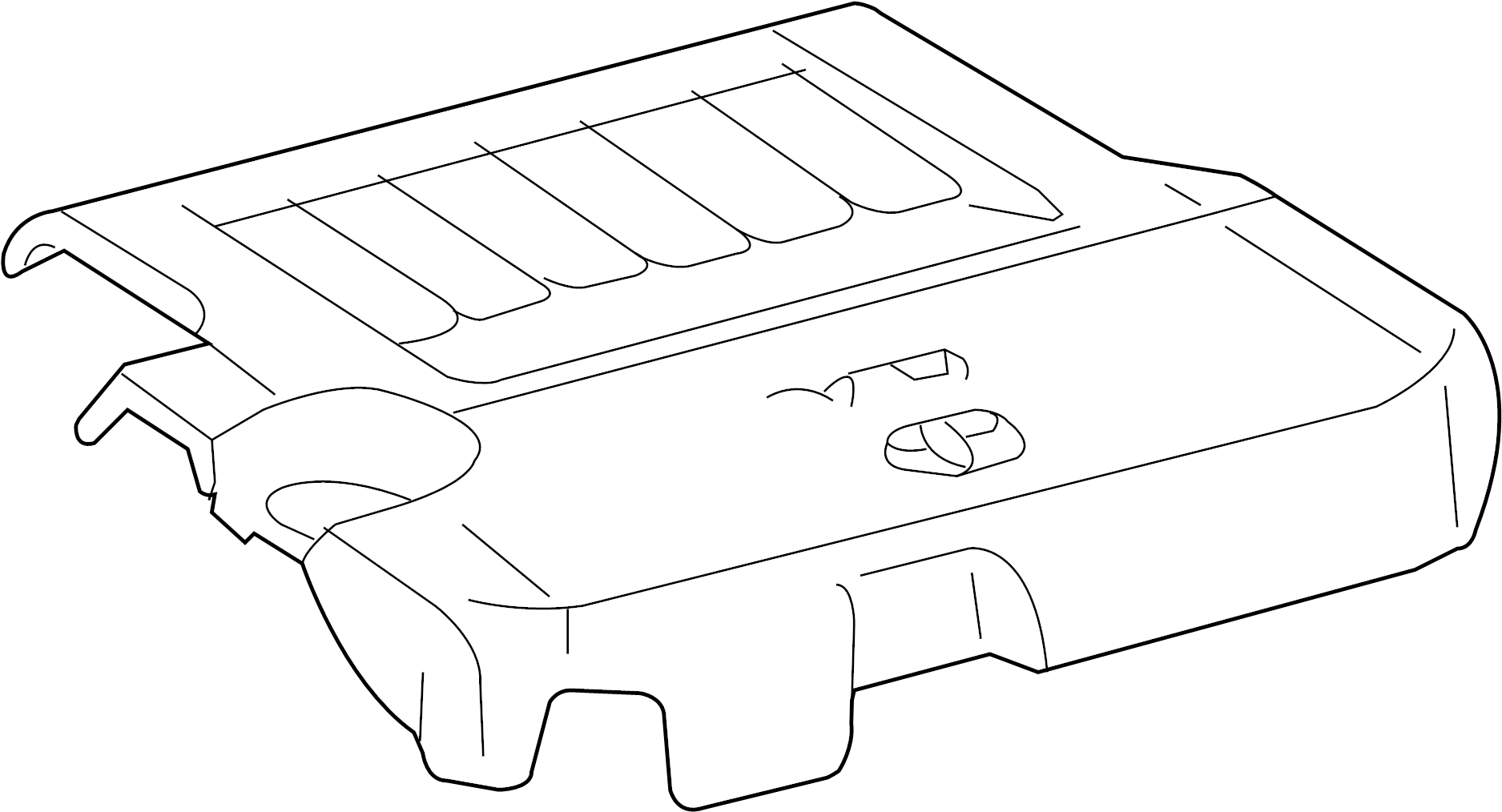 Toyota Venza Engine Cover