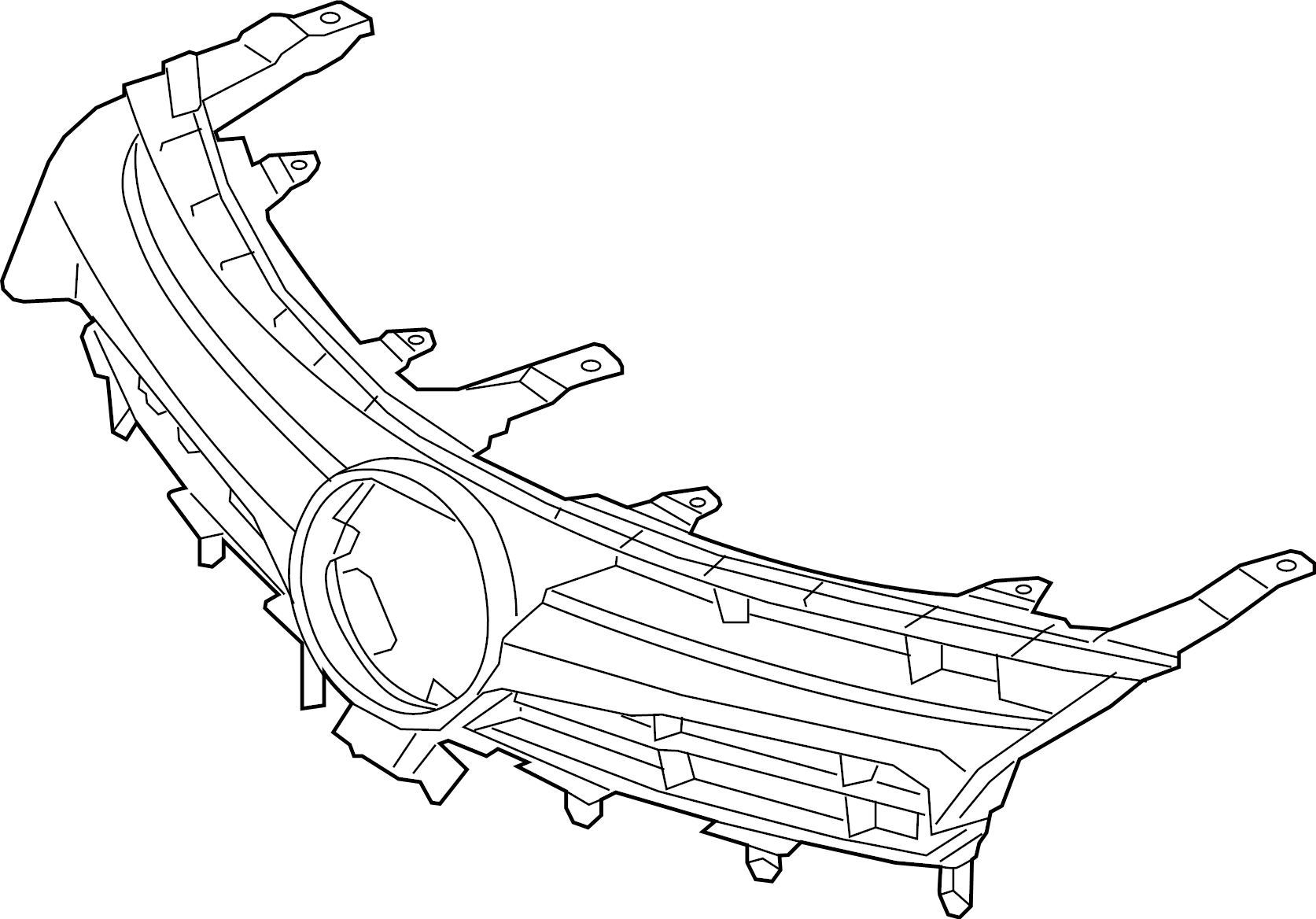 Toyota Camry Grille Assy
