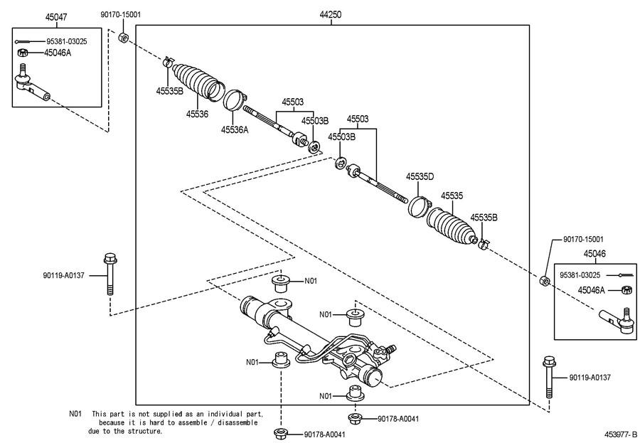 1986 Toyota Pump Power Steering