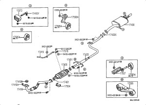 Geo Prizm 1996 Exhaust Diagram  Best Diagram For Cars