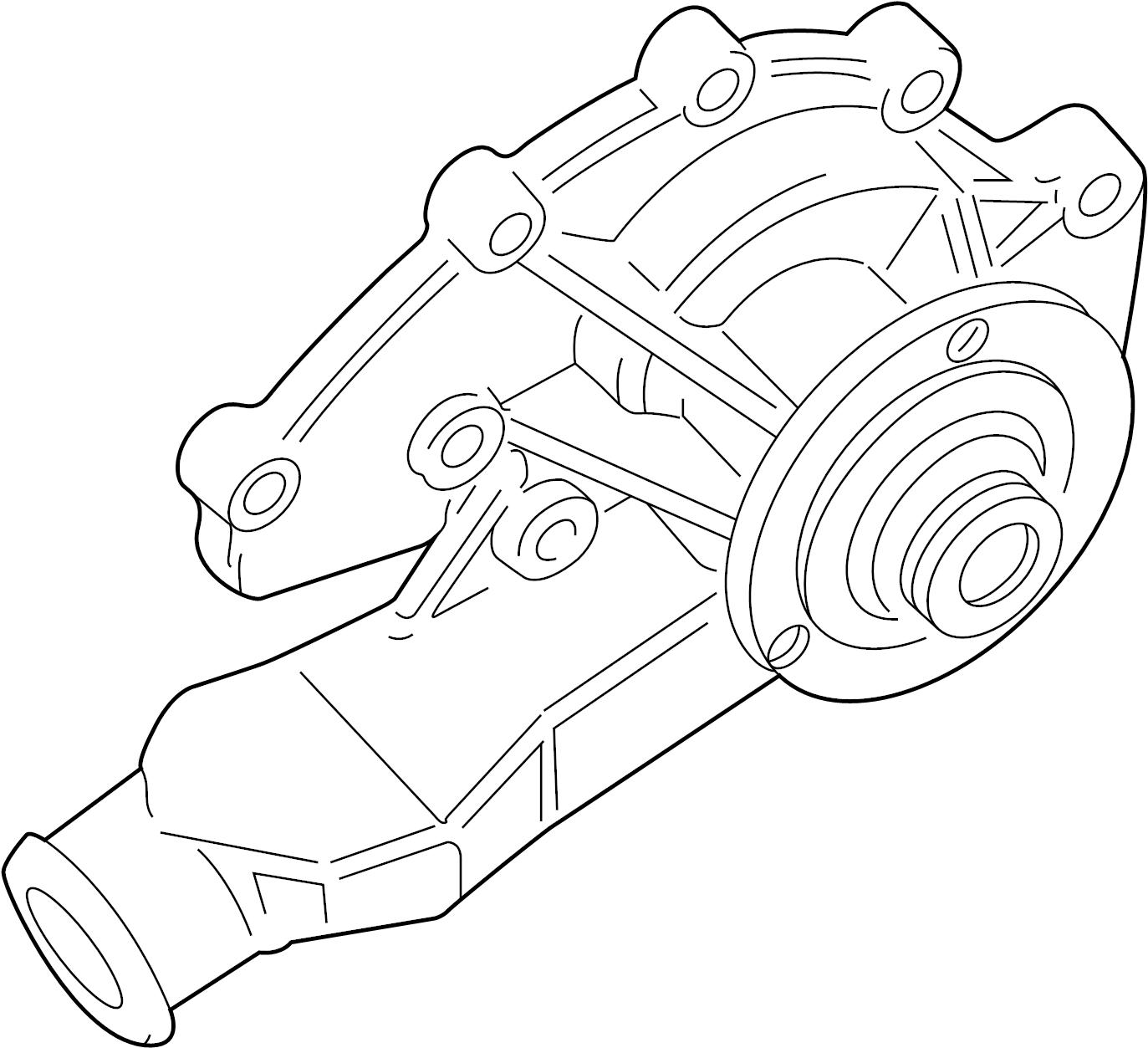 Land Rover Range Rover Engine Water Pump Pump