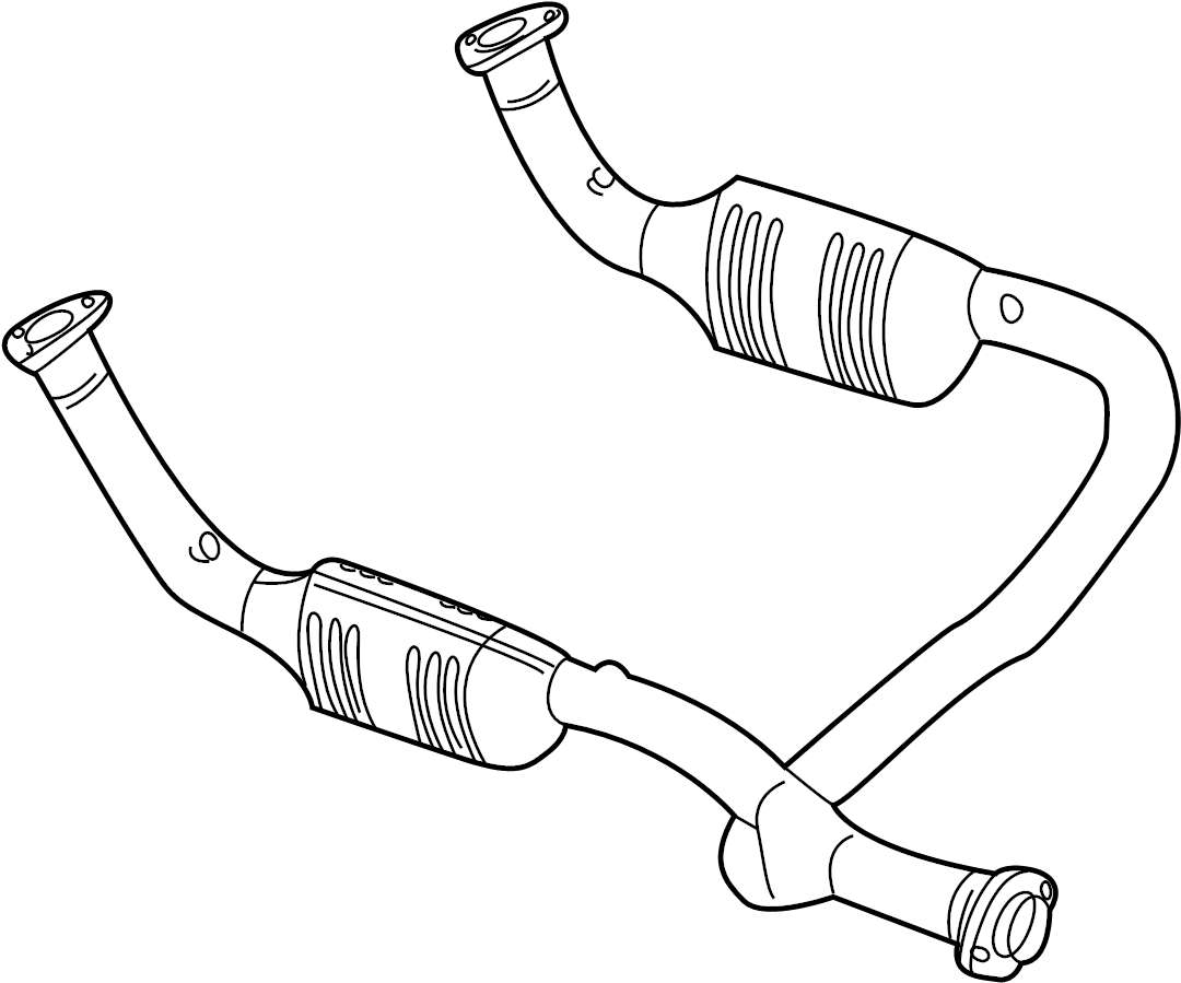 Land Rover Discovery Catalytic Converter Front