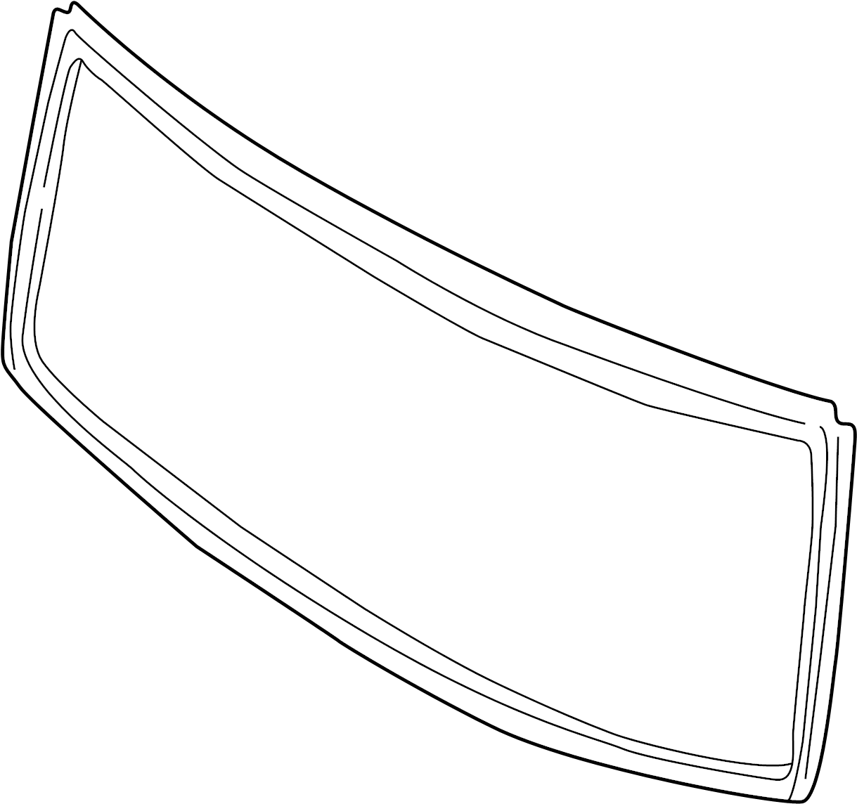 Land Rover Discovery Molding