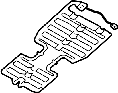 Land Rover Range Rover Air Bag Seat Sensor Mat