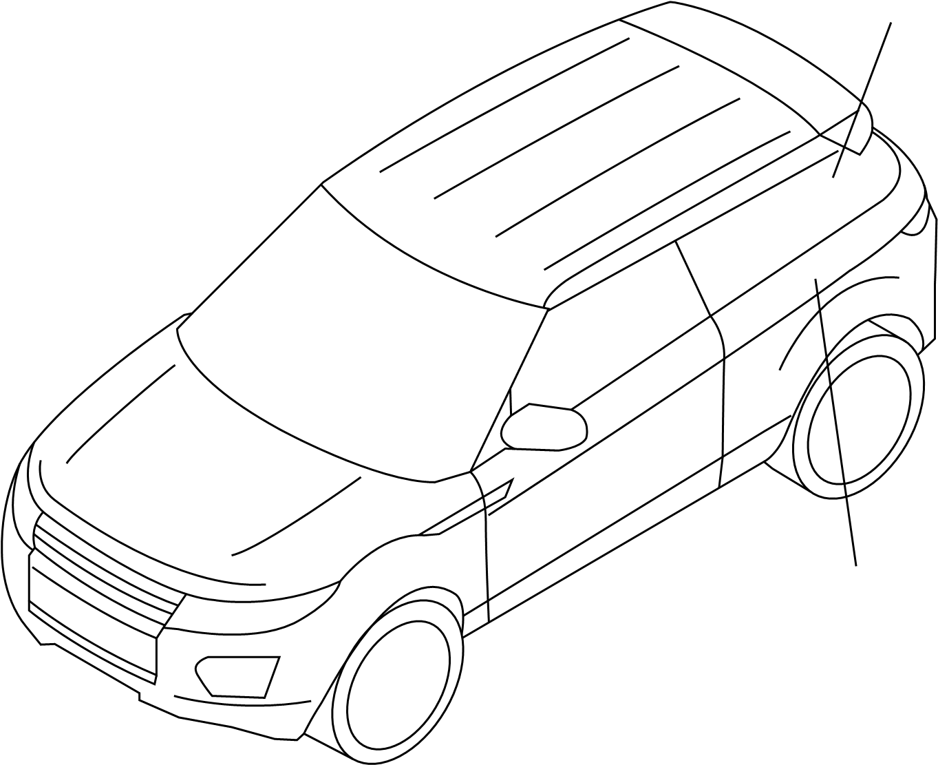 Land Rover Range Rover Evoque Active Suspension