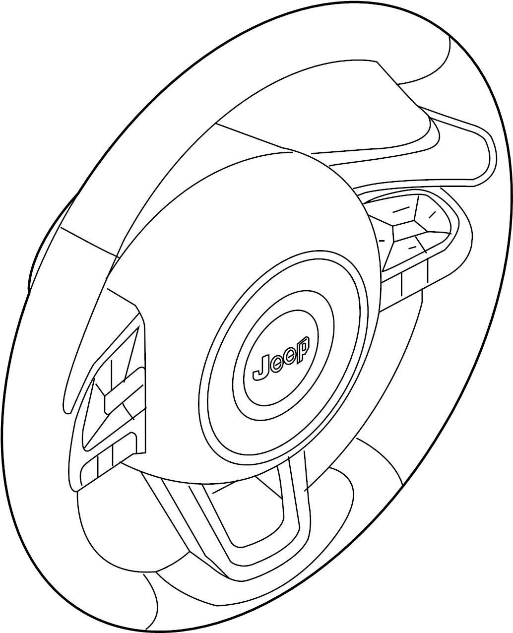 Land Rover Range Rover Velar Steering Wheel Velar W