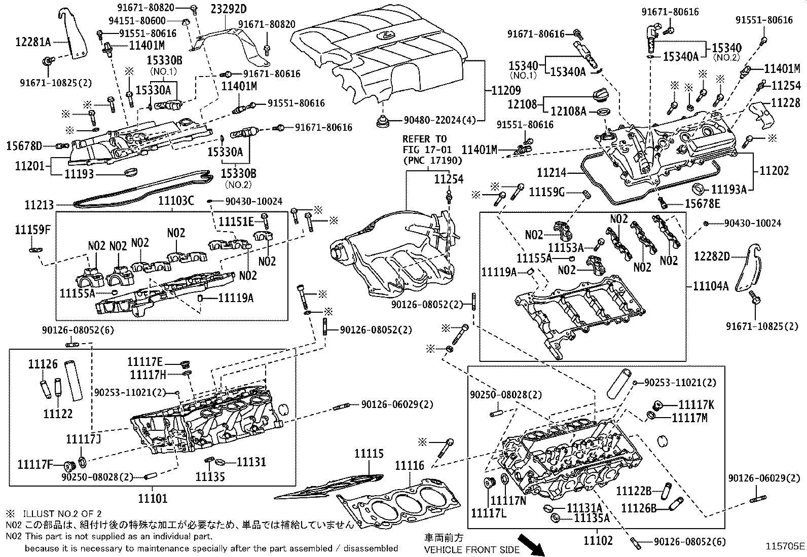 Lexus Rx 350 Engine Oil Filler Cap