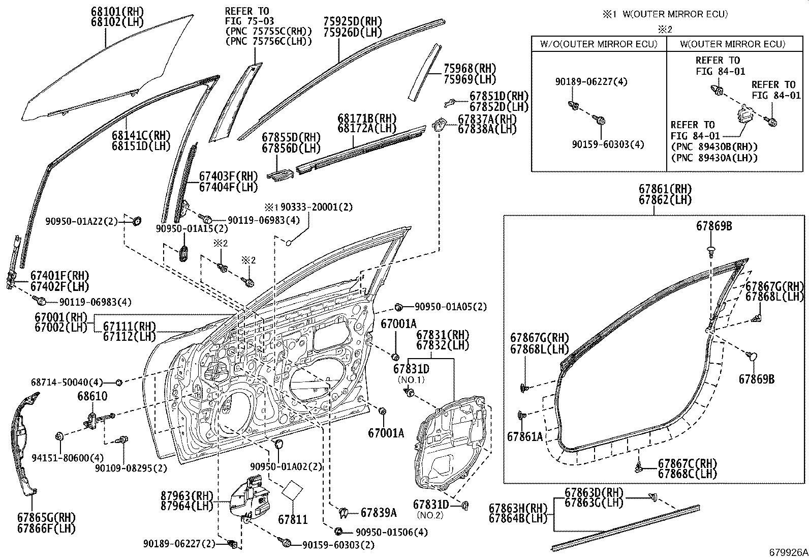 Lexus Es 350 Clip Retainer
