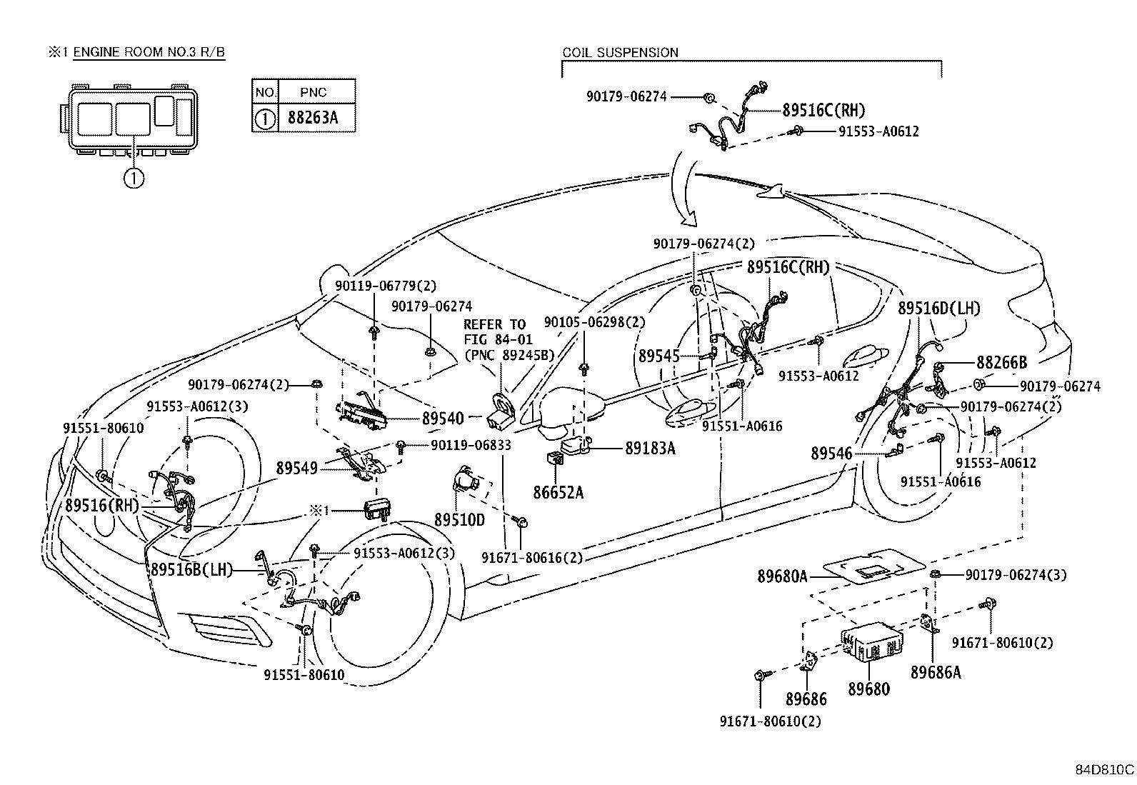 Lexus Ls 460 Computer Assembly Skid Control
