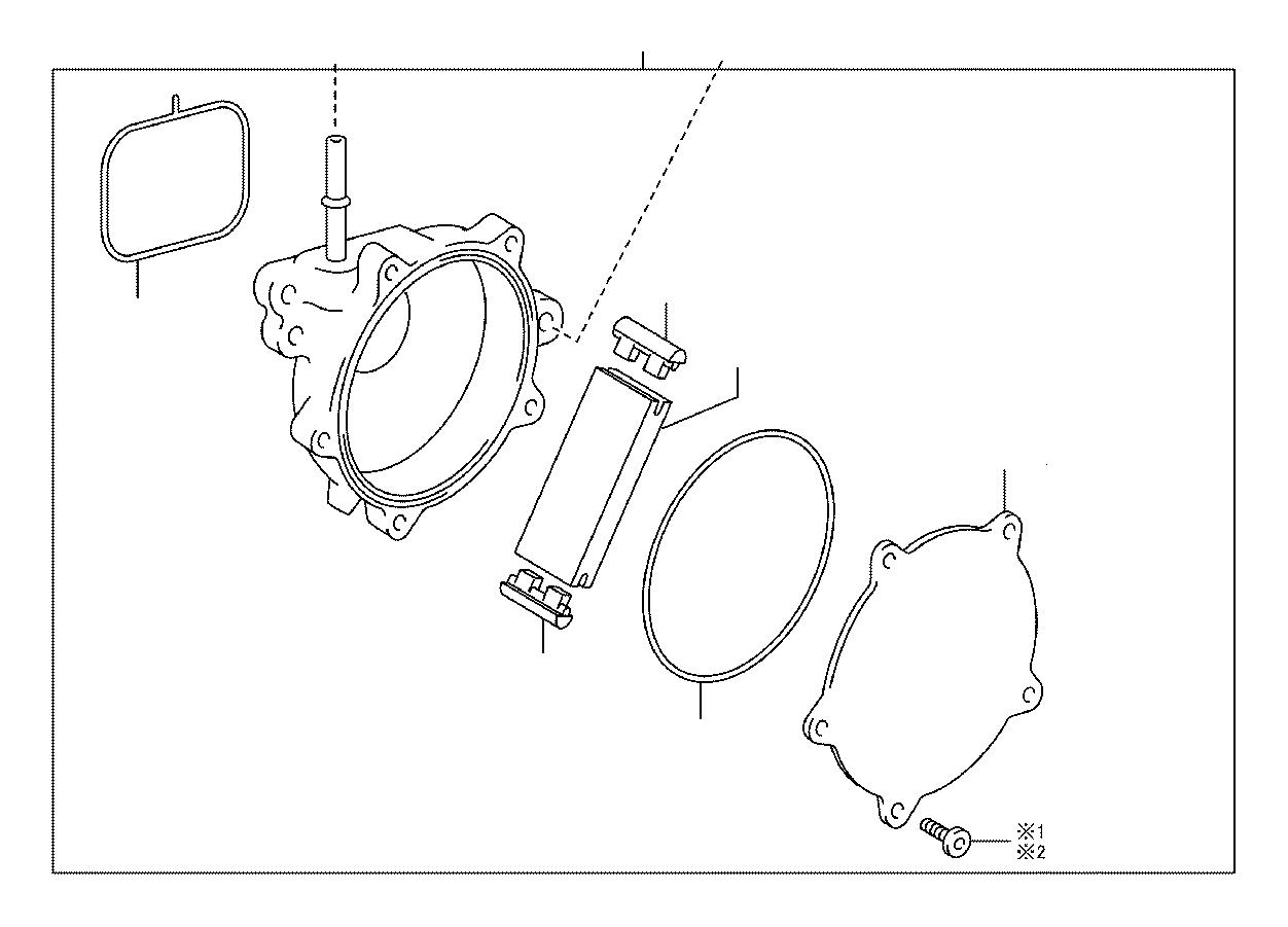 Lexus Rx 350 Vacuum Pump Engine