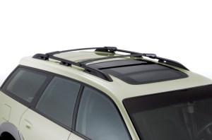 Service manual [2002 Subaru Legacy Crossbar Installation]  Cross Bars Replacement On A 2002