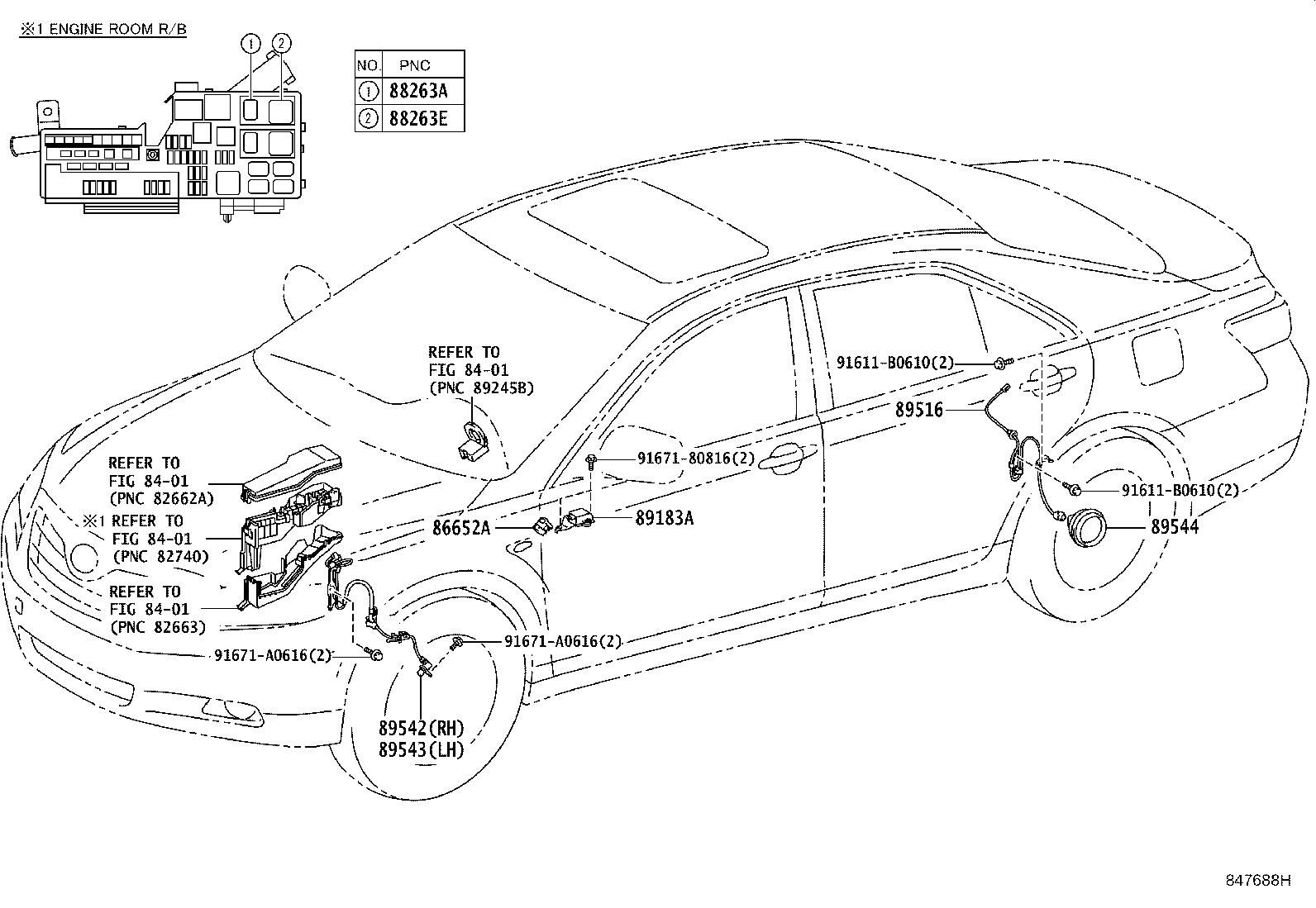 Toyota Wiring Harness Diagram