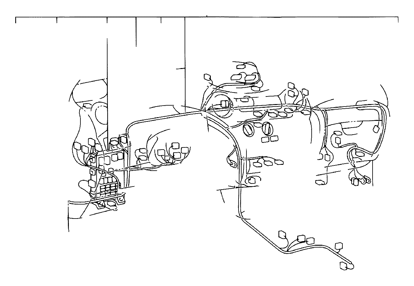 Toyota Echo Wire Instrument Panel Electrical Wiring