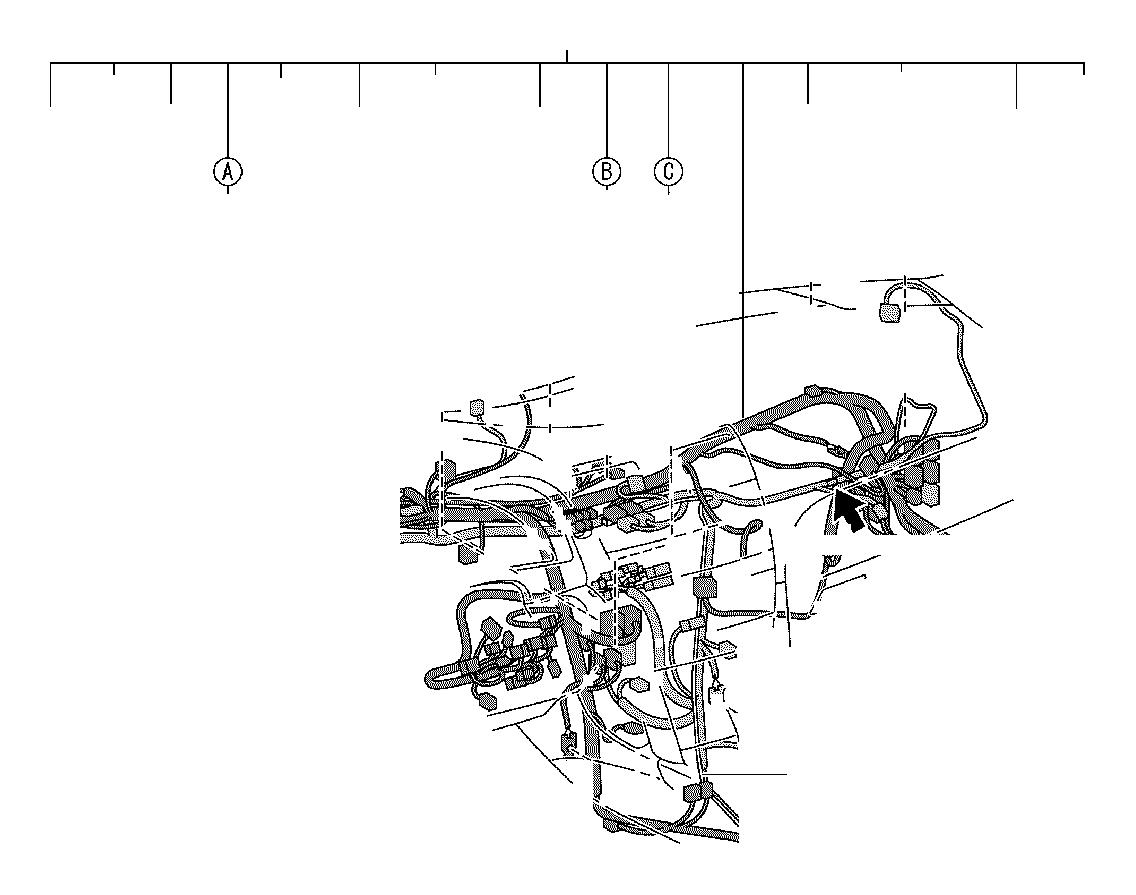 Toyota Camry Wire Instrument Panel Electrical Wiring