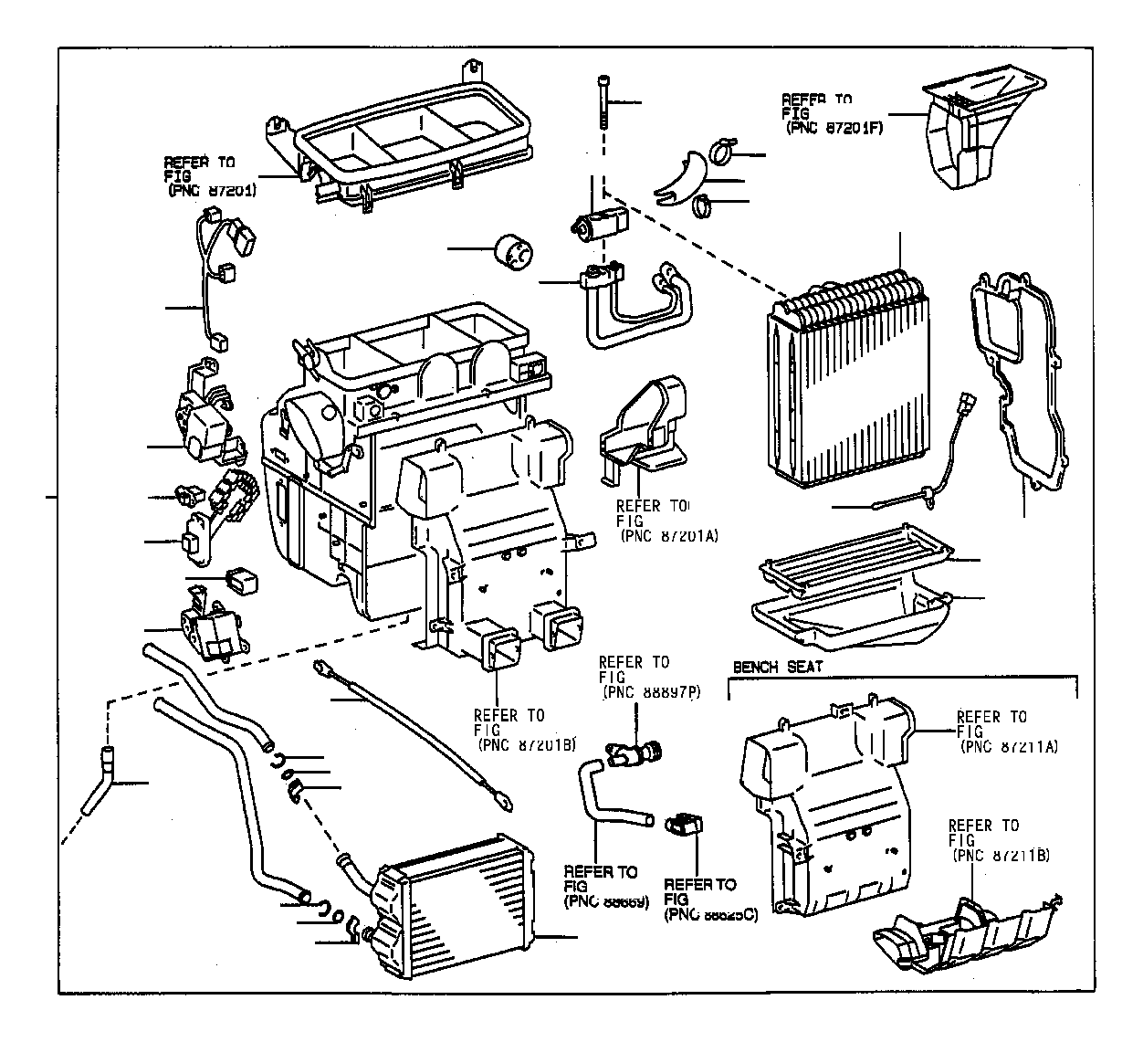 Toyota Avalon Relay Assembly Cooler Electrical