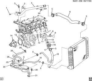 Can't identify part Coolant system, pontiac sunfire 2000 2200ltr  General Auto Repair