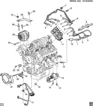 2004 Chevy Impala Parts Diagram, 2004, Free Engine Image For User Manual Download