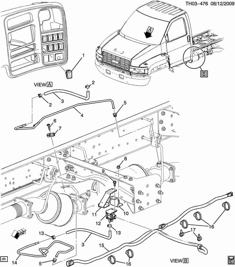 C4500 Kodiak Wiring Diagram: GMC Acadia Mk1 2007 Radio Wiring Diagrams At Johnprice.co